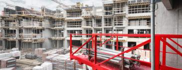 Podesty rozładunkowe / wysuwnice budowlane – wynajem, sprzedaż