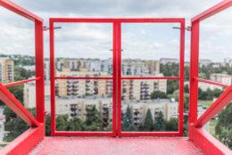 Podesty rozładunkowe / wysuwnice budowlane – wynajem, sprzedaż - galeria zdjęć